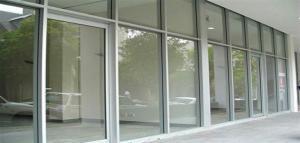 Pintu Kaca Geser Aluminium